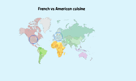 French vs American cuisine