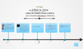 Linea de tiempo de la física clásica <- 1890