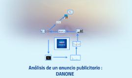 Copy of Analisis de un anuncio publicitario : DANONE