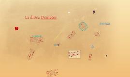 La diosa Deméter