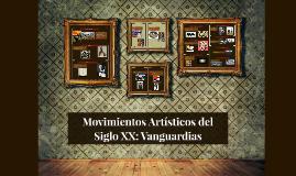 movimientos artisticos del s.xx (vanguardias)