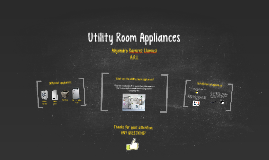 Utility Room Appliances