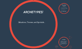 Copy of Archetypes: Situations, themes, symbols!