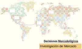 Decisiones Mercadologicas