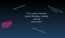 7th Grade Policies and Procedures 2016-2017