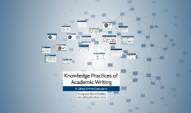 Knowledge Practices of Academic Writing in Internet-mediated Learning Environments