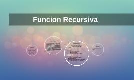 Funcion Recursiva