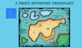 A pirate adventure vocabulary