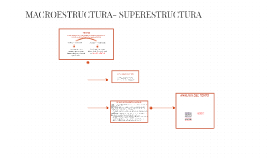 MACROESTRUCTURA- SUPERESTRUCTURA
