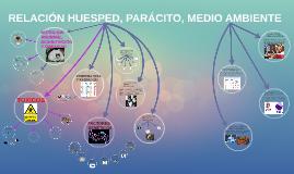 RELACIÓN HUÉSPED, PARÁCITO, MEDIO AMBIENTE