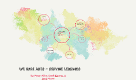 WE Care arts - service learning
