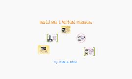 WW1 virtual museum
