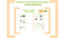 Taller 3 PACE: Energías tradicionales
