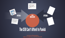 The CEO Can't Afford to Panick
