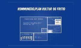 Kommunedelplan Kultur og fritid