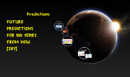 Copy of FUTURE PREDICTIONS FOR 2050