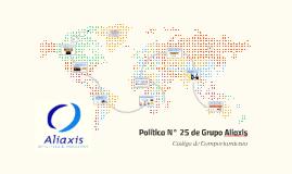 Política N° 25 de Grupo Aliaxis