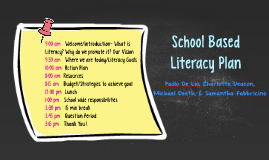 School Based Literacy Plan