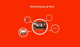 Brand Embassy @ Prezi.