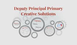 Deputy Principal Primary