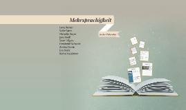 Mehrsprachigkeit in der Literatur