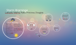Copy of Storm Warnings
