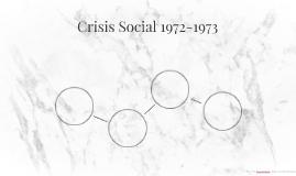 Crisis Social 1972-1973
