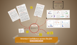 Investor Confidence across the JSE