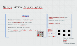 Dança Afro Brasileira