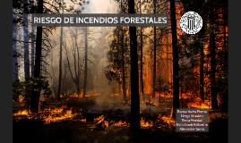 Riesgo de incendios forestales