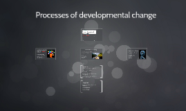 Copy of Processes of developmental change