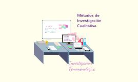 Copy of  Investigación Fenomenológica