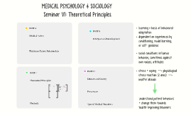 Seminar VI: Medical Psychology & Sociology
