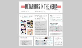 METAPHORS IN THE MEDIA