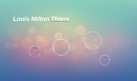 Louis Milton Thiers