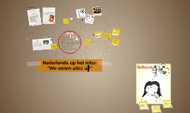 Nederlands op het mbo vanuit studentenperspectief