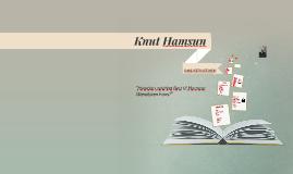 Copy of Knut Hamsun