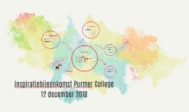 Inspiratiebijeenkomst Purmer College