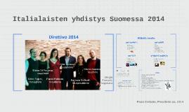 Italialaisten yhdistys Suomessa 2014