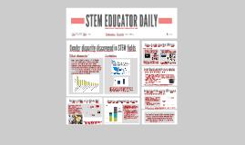 Gender and STEM Education
