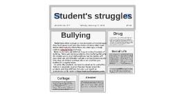 Student's struggle