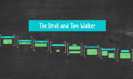 Devil tom walker essay question