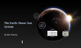 The earth-moon-sun system