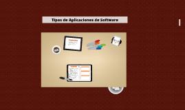 Tipos de Aplicaciones de Software