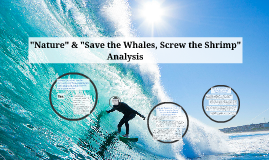 save the whales screw the shrimp thesis Start studying ap lang ch12 learn vocabulary, terms, and more with flashcards save the whales, screw the shrimp eo wilson the future of life gerard manley.