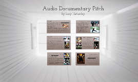 Audio Documentary Pitch