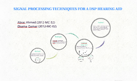 SIGNAL PROCESSING TECHNIQUES FOR A DSP HEARING AID