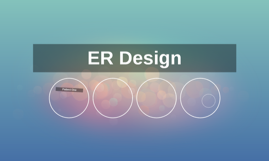 ER Design