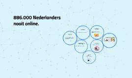 886.000 Nederlanders nooit online