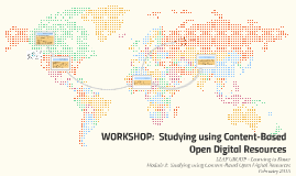 Studying using Content-Based Open Digital Resources